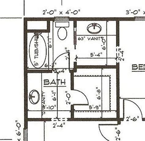 jack and jill bathroom layouts our new home the plan modifications