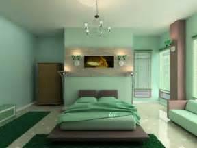 Bedroom Color Schemes Light Green Une Id 233 E Peinture De Chambre Adulte Pour L Ambiance