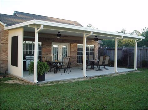 aluminum patio awning aluminum patio roofs