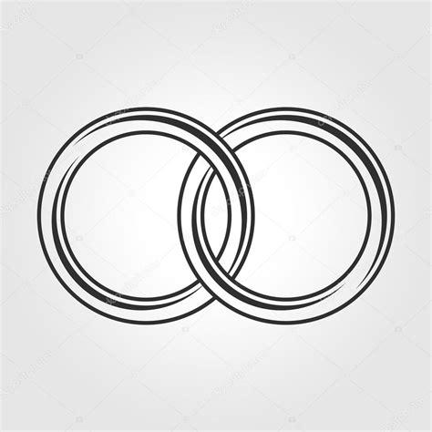 Eheringe Zeichen by Ehering Symbol Stockvektor 169 Sonik 116387764