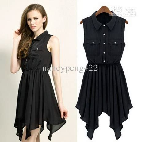 Dress Cassual black dress casual