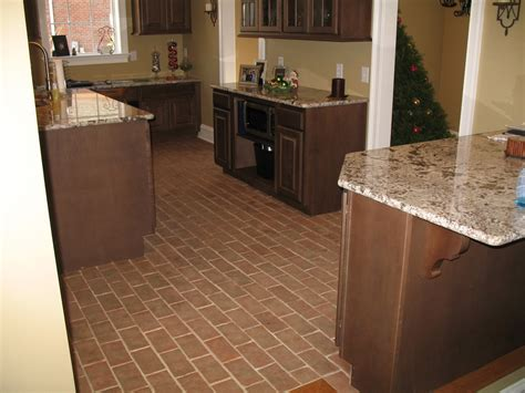 kitchens inglenook brick tiles thin brick flooring