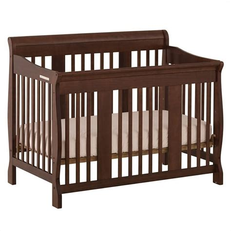 Baby Crib Espresso Pemberly Row 4 In 1 Stages Baby Crib In Espresso Pr 223025