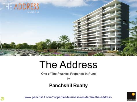 Pune Address Search The Address One Of The Plushest Properties In Pune