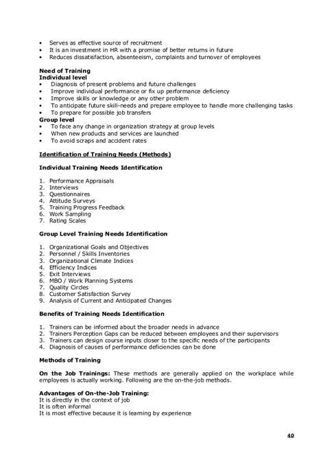 Strategic Human Resource Management Notes Mba by 135988925 Human Resource Management Notes Mba