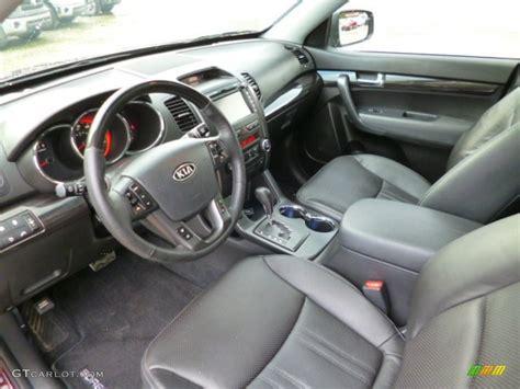 2012 Kia Sorento Interior by 2012 Kia Sorento Sx V6 Awd Interior Color Photos