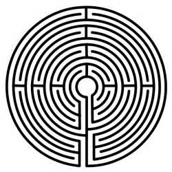 Labyrinth Outline by File Labyrinth 1 From Nordisk Familjebok Svg