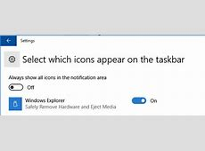 Safely Remove Hardware and Eject Media icon Missing in ... Explorer 11 For Windows 10 Home