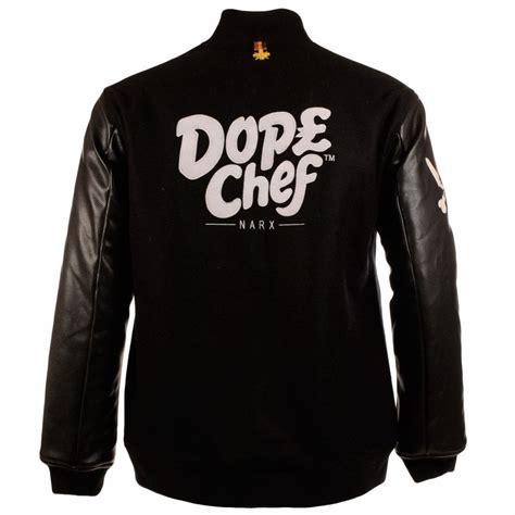 Jaket Sweater Jaket Clasic Basseball dope chef dope chef classic black leather sleeve baseball jacket dope chef from brother2brother uk