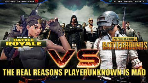fortnite vs battlegrounds fortnite battle royale vs playerunknown s battlegrounds