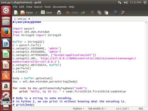 python xml tutorial minidom python调用opendaylight rest api实验 sdnlab 专注网络创新技术