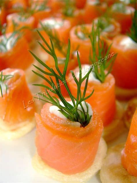 recette de canap駸 pour ap駻itif canap 233 s de saumon les tribulations d alorangeane