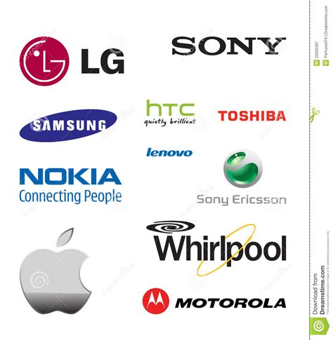 mobile phones brand world mobile phone brands editorial photography