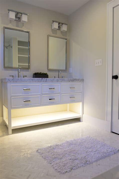 warm cabinet lighting 1 bar led cabinet lighting kit warm white 24