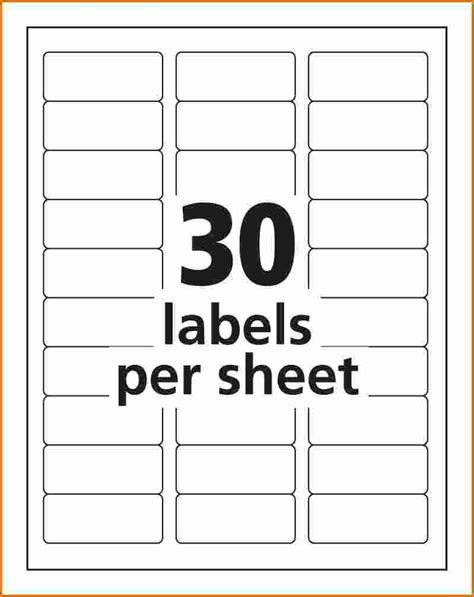 avery label templates 5260 avery template 5160 for word template ideas