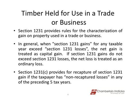 section 1231 gain loss wooden you know timber speech powerpoint