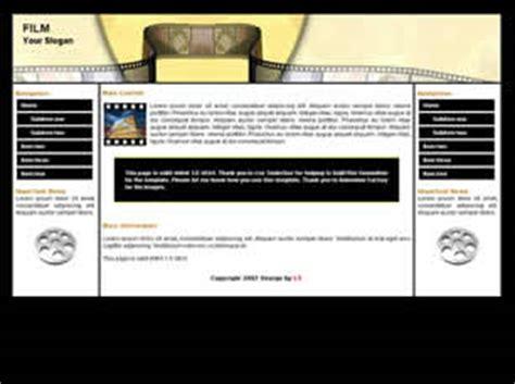 Download 2596 Free Website Templates Css Html Free Css Filmmaker Website Template