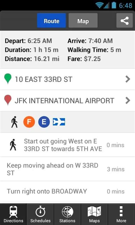 Hopstop Subway Directions Now Available For Your Phone by Hopstop For Android