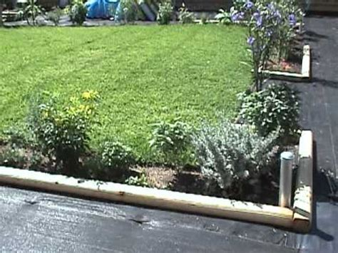 Landscape Timbers For Edging Gardening Tips Landscape Timber Borders Mpg