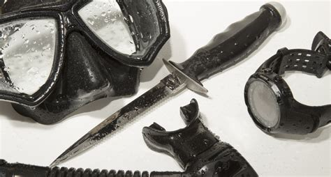 dive knives where to put a dive knife scuba diver