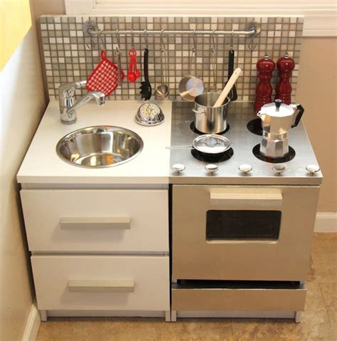 ikea play kitchen ikea hackers malmtastic play kitchen diy pinterest