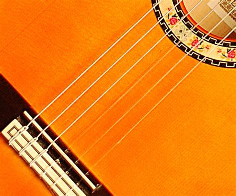 strings of flamenco guitar strings