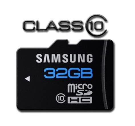 Memory Card Handphone Samsung deal samsung 32gb class 10 microsd card for 33 77