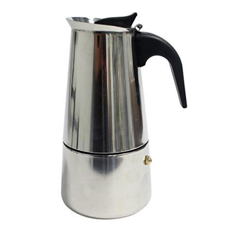 Dijamin Ozoya Replacement Knob Moka Pot 9 Cup knindustrie aluminium stovetop espresso moka pots all for coffee tea espresso