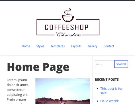 wordpress themes centered how to center a logo in your wordpress theme