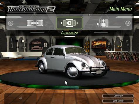 mod game underground 2 need for speed underground 2 volkswagen beetle 1963 nfscars