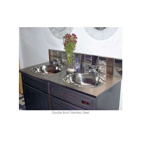 Stainless Steel Bathroom Vanity Top by Precious Metal Bathroom Vanity Top By Stainless Craft Kitchensource