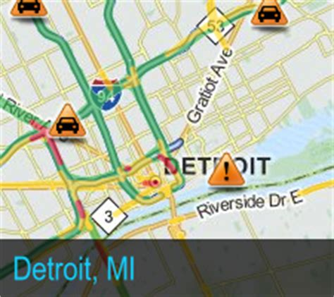 mdot interactive map traffic report for i 75 michigan traffic updates
