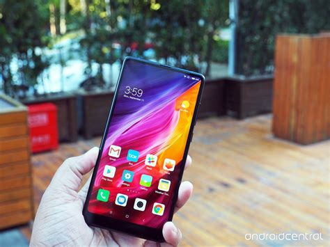 xiaomi mi mix 2 xiaomi mi mix 2 in pictures android central