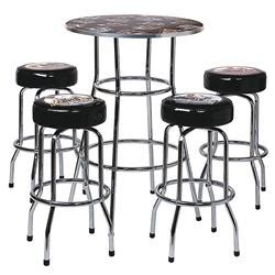 Harley Davidson Pub Table Bar Stool Set by Harley Davidson 174 American Table And Bar Stool