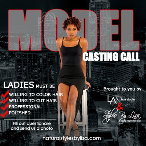 natural hair models modeling print casting calls model casting calljpg male models picture