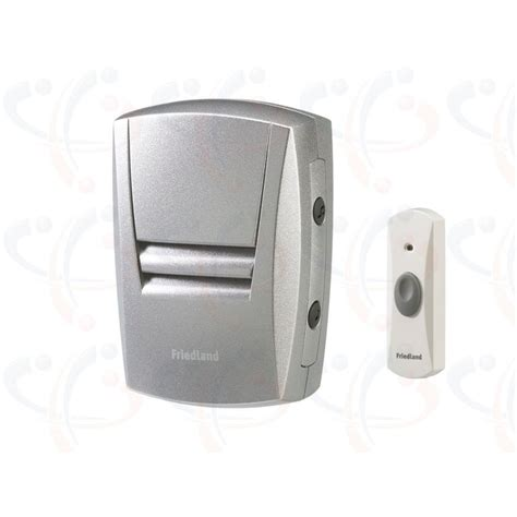 friedland evo 50m in wireless door bell chime kit