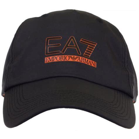 ea7 by emporio armani 275366 adjustable black baseball cap