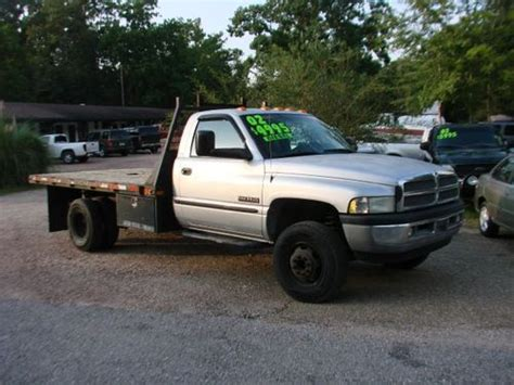 dodge 3500 flatbed diesel for sale buy used 2002 dodge ram 3500 flatbed diesel quot great