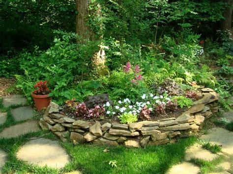 Rock Gardens Pinterest Shaded Rock Garden The Yard Pinterest
