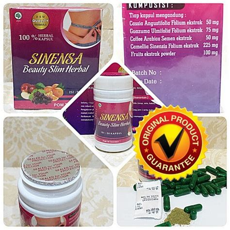 Pelangsing Sinensa Slim Herbal sinensa slim herbal asli grosir eceran sinensa
