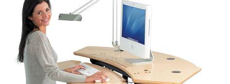 escritorios de pie escritorios para trabajar de pie radio imagina