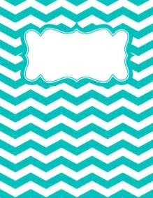Binder Cover Template by Best 20 Chevron Binder Covers Ideas On