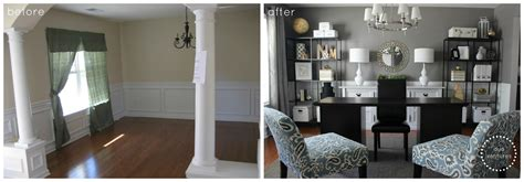 How To Change A Formal Dining Room Into Duo Ventures A Dining Room To Home Office Reveal
