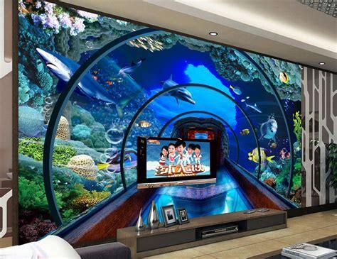 aquarium wall mural get cheap aquarium wall mural aliexpress alibaba