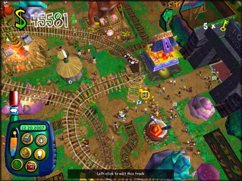 theme park video game theme park world screenshots gallery