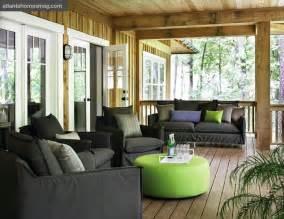 green and gray room gray outdoor furniture country deck patio atlanta