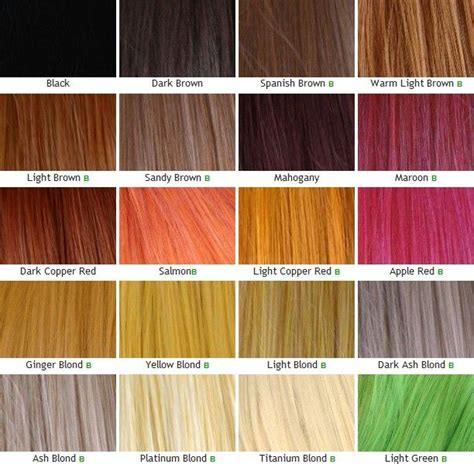 hair color chart for braids 18 best images about kanekalon hair on pinterest mint