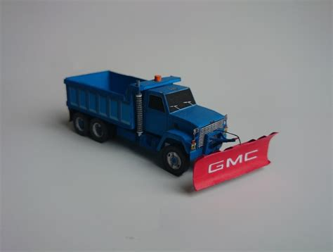 Paper Craft Truck - truck paper model template pictures to pin on