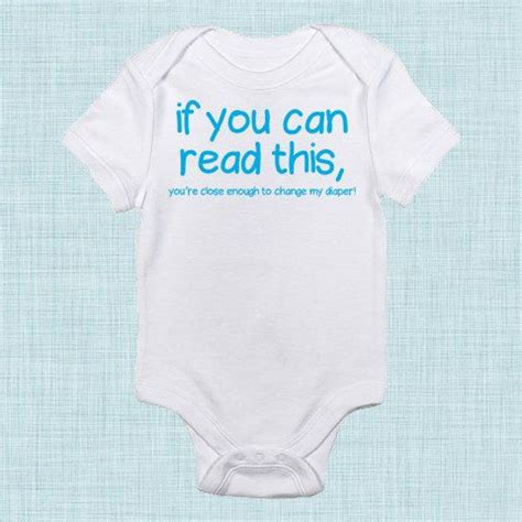 If you can read this funny baby clothes gender neutral baby gifts