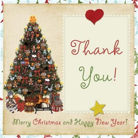 Thank You Cards Christmas Gifts - thank you for the christmas card special day celebrations